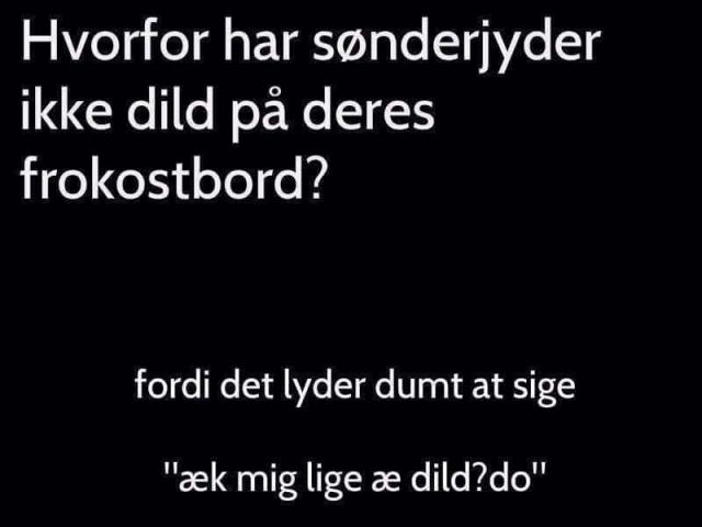 Dild på bordet