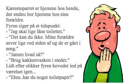 Kæresteparret.