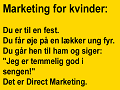 Marketing for kvinder.